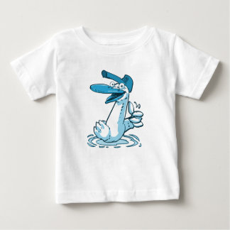 sweet duck on the lake cartoon baby T-Shirt