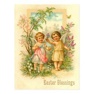 Sweet Easter Angel Postcard