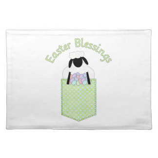 Sweet Easter Lamb Tees and Gifts Placemats