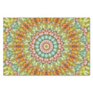 Sweet Easter Multi-Color Pastel Jellybean Mandala Tissue Paper