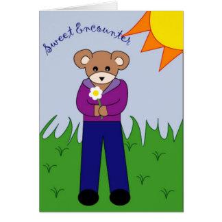 Sweet Encounter Greeting Card