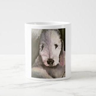 Sweet-Eyed Bedlington Terrier Jumbo Mug