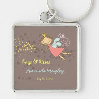 Sweet Fairy and Stars Fun Thank You Gift Keychain