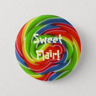 Sweet Flair Lollipop Button