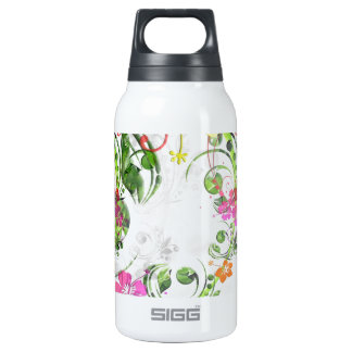 Sweet Floral Insulated Water Bottle