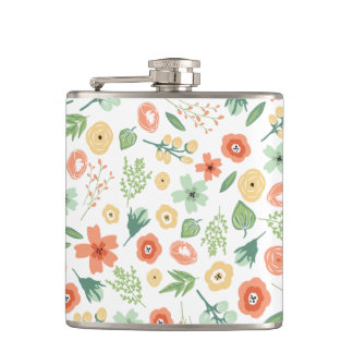 Sweet Florals Flask