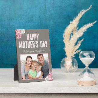 Sweet Florals Mother's Day Custom Frame Plaque