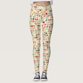 Sweet Flower Garden Leggings