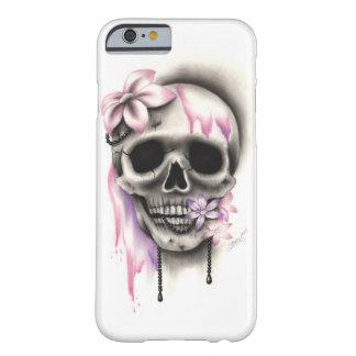 Sweet Flower Skull Necklace Phone Case