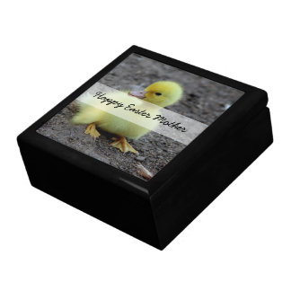 Sweet Fluffy Duckling Yellow Gift Box