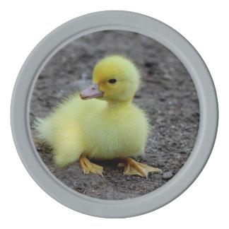 Sweet Fluffy Duckling Yellow Poker Chip Set