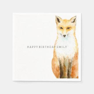 Sweet Fox Disposable Napkin