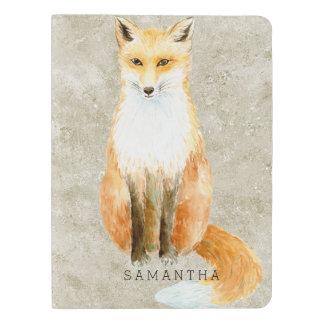 Sweet Fox Extra Large Moleskine Notebook