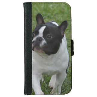 Sweet French Bulldog iPhone 6 Wallet Case