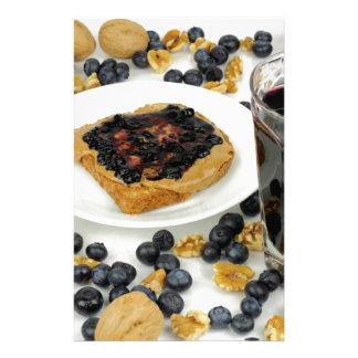 Sweet Fruit Nut Treats Stationery