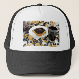 Sweet Fruit Nut Treats Trucker Hat