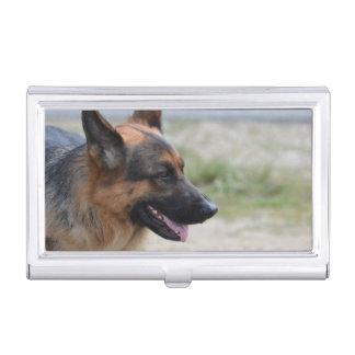 Sweet German Shepherd Dog Business Card Holders