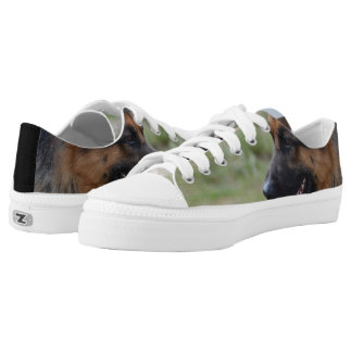 Sweet German Shepherd Dog Low-Top Sneakers