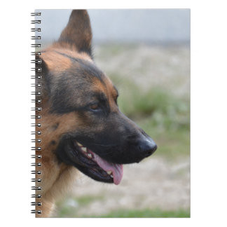 Sweet German Shepherd Dog Note Books