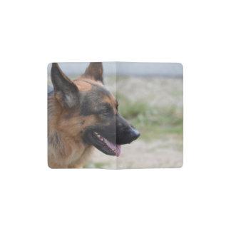 Sweet German Shepherd Dog Pocket Moleskine Notebook