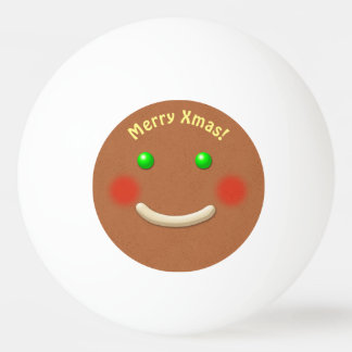 Sweet Gingerbread Cookie Ping Pong Ball