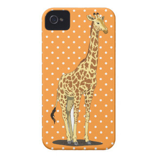 Sweet Giraffe iPhone 4 Case-Mate Case