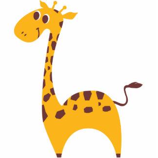 Sweet Giraffe Photo Cutout