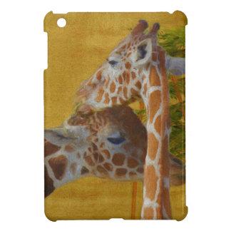 Sweet Giraffes - Painting iPad Mini Case