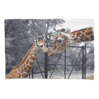 Sweet Giraffes Pillowcase