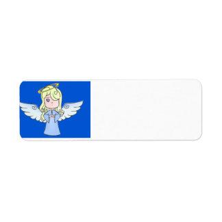 Sweet Girl Angel Custom Return Address Label
