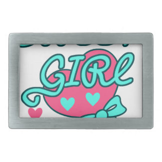 sweet girl design belt buckle