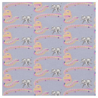Sweet Girl's Cotton Fabric - Fanti