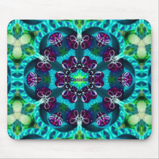 ~ Sweet Glittery Pattern ~ Personalised DANIELLE ~ Mouse Pad