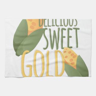 Sweet Gold Kitchen Towel