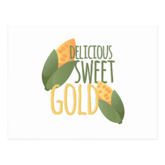 Sweet Gold Postcard