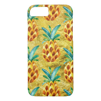 Sweet Golden Pineapple iPhone 7 Case