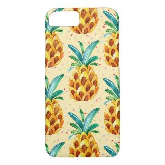 Sweet Golden Pineapple Surprise iPhone 8/7 Case