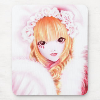 Sweet Goth lolita Mouse Pad