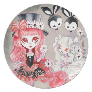 Sweet Gothic Party Plate