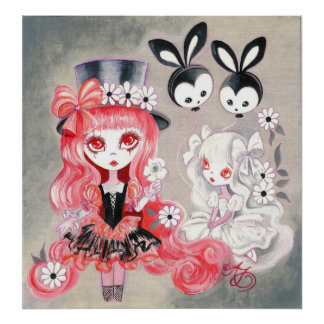 Sweet Gothic Party Posters