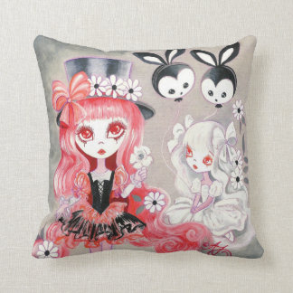 Sweet Gothic Party Throw Pillow