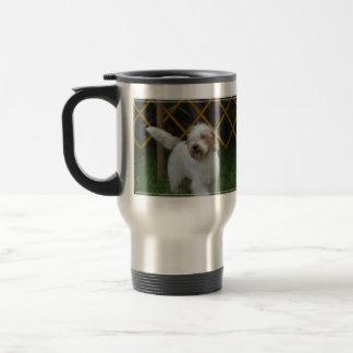 Sweet Grand Basset Dog Travel Mug