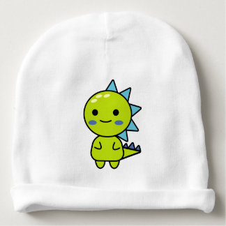 Sweet Green Dinosaur Kawaii Cartoon Baby Beanie