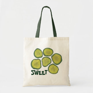 SWEET Green Pickle Chips Pickles Kosher Dill Print