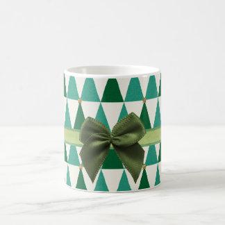 Sweet Green Sparkle Christmas Mug