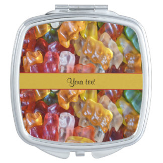 Sweet Gummi Bears Mirror For Makeup