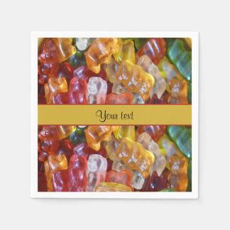 Sweet Gummi Bears Paper Napkin