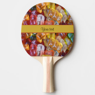Sweet Gummi Bears Ping-Pong Paddle