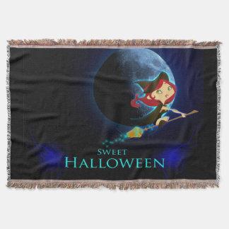 Sweet Halloween Throw Blanket