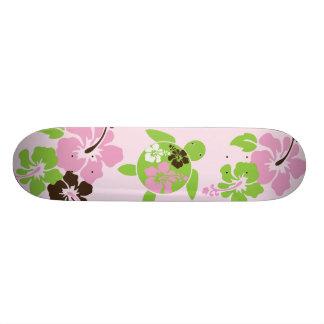 Sweet Hawaiian Honu Girl Skateboard